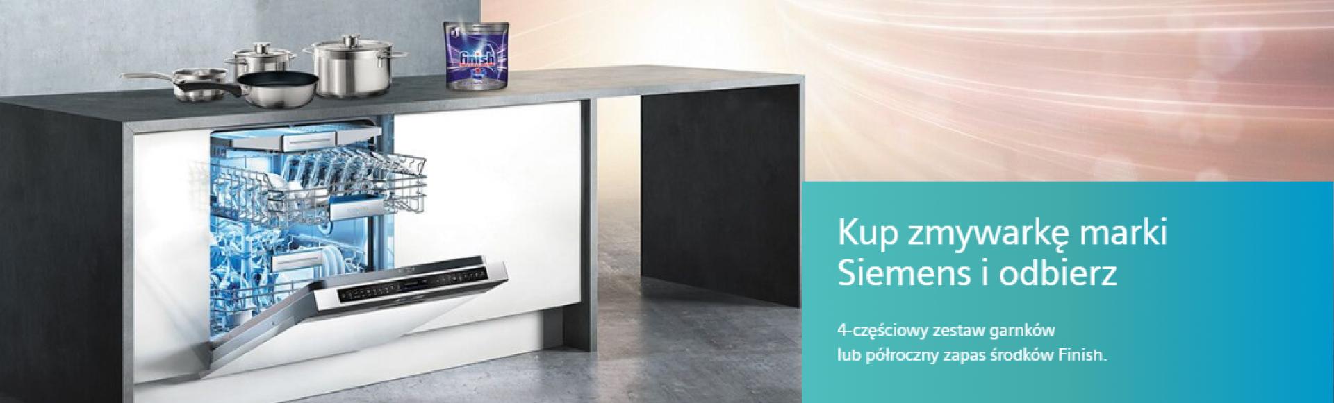 Promocja zmywarek Siemens
